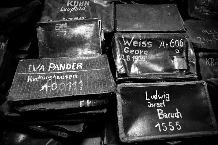 Luggage - Auschwitz Concentration Camp, Poland