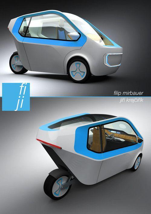 Futuristic Cars Car E Driving Electric Vehicles