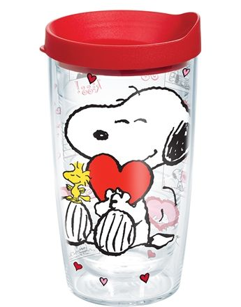 What's not to love? Snoopy sweetheart savings on Tervis Tumblers! Just $5 for this cute Valentine's Day design. Learn more at CollectPeanuts.com.