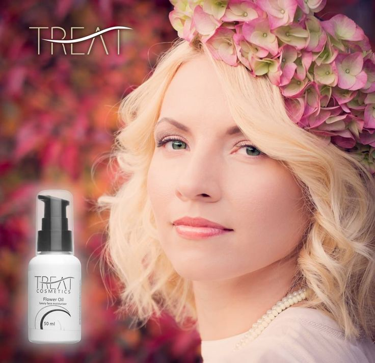 """TREAT proudly presenting our new, but already loved face skin moisturizer """"Flower oil"""". http://treatment.no/p14.html"""