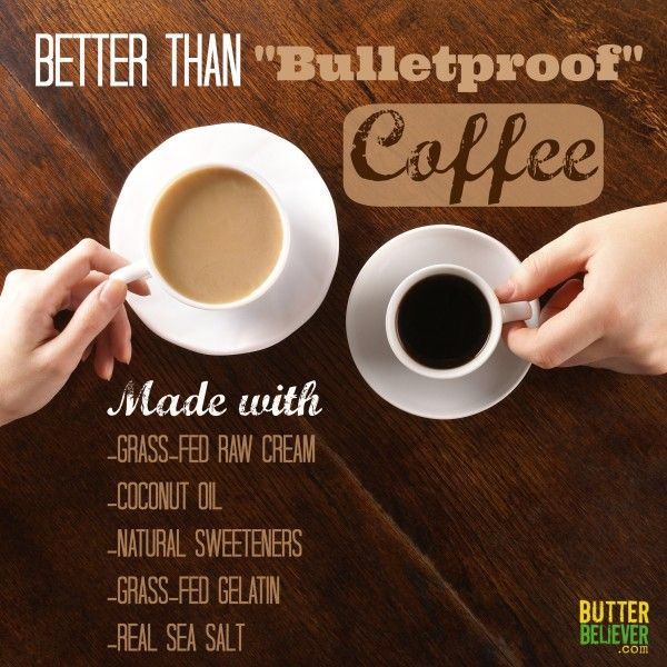 """Why you DON'T want to be drinking """"bulletproof"""" coffee. (And what to drink instead!)"""