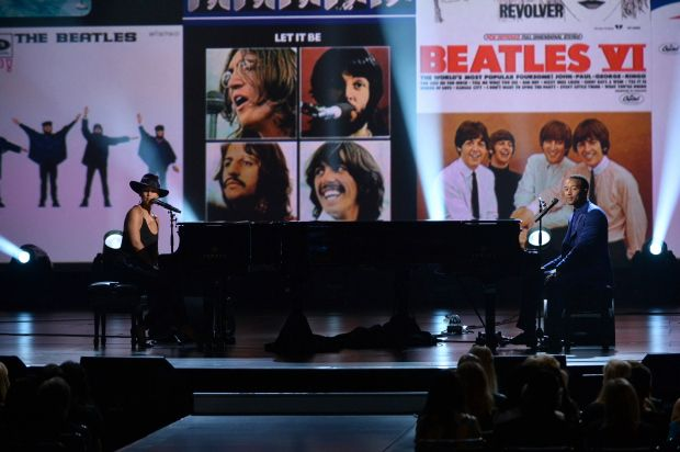 The Beatles A Grammy Salute 50 Years Later The Beatles Alicia
