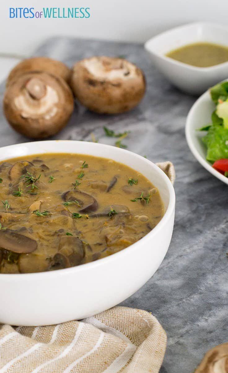 The Best Ever Mushroom Soup Recipe I Ve Ever Had Mushroom Lovers