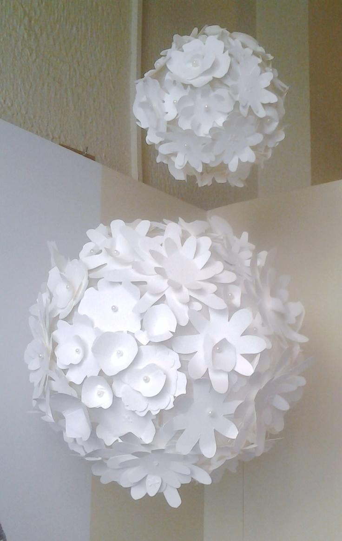 Lamparas de papel monisimas cosas de papel pinterest - Lamparas de pie de papel ...