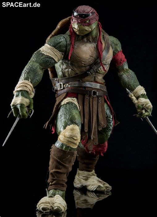 Teenage Mutant Ninja Turtles: Raphael, Deluxe-Figur