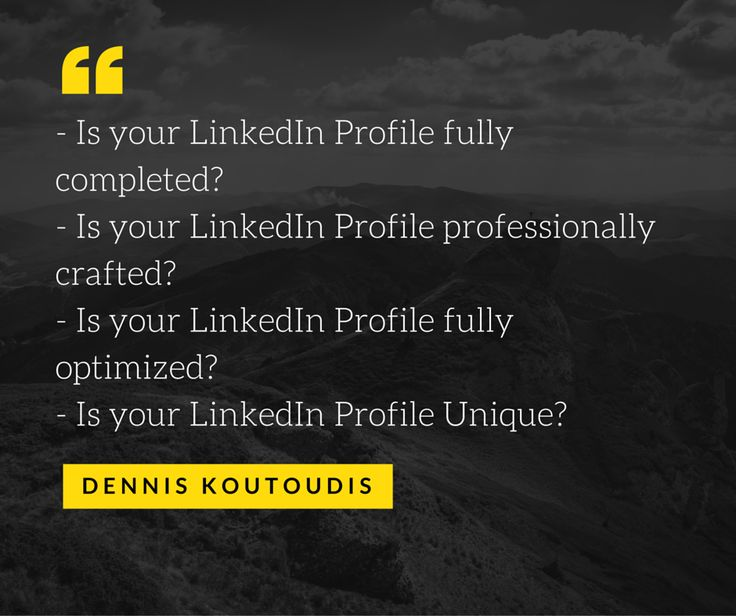Some years ago it was enough only to have a presence on the LinkedIn Platform. Not anymore. More than ever, in these turbulent and uncertain times we are going through, our LinkedIn Profile has become a powerful vehicle to help us achieve our professional goals. For this to happen though, we need to ensure that we have a LinkedIn Profile that attracts traffic & helps us stand out within our targeted business field www.LinkedSuperPowers.com