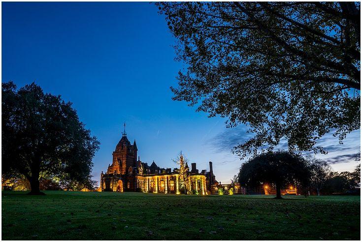 Night falls at The Elvetham Hotel, Hartley Wintney #weddingphotography #elvetham #sunset