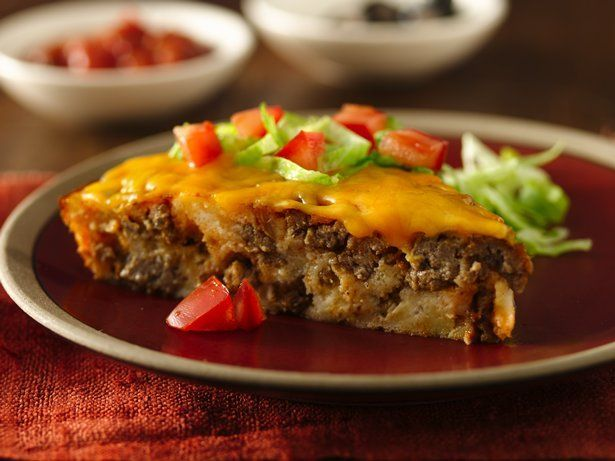 Gluten Free Impossibly Easy Taco Pie. | Eating Right | Pinterest