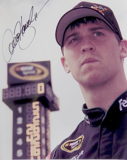 Denny Hamlin Nascar Qualifying Pole 8x10 Photo SI