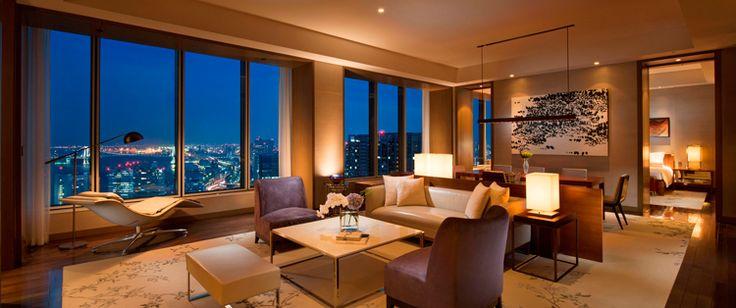 ロイヤルスイート お部屋&宿泊  CONRAD TOKYO   コンラッド東京 汐留・銀座のホテル予約