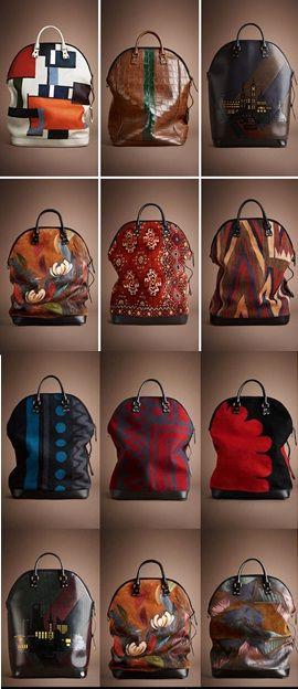Burberry Prorsum AW14 Womenswear - extravagant, interesting print to transform a basic shape