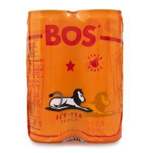 BOS Organic Peach Rooibos Ice Tea.  #IceTea #Organic #WoolworthsSA