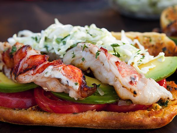 Southwest Lobster Roll | Food Network Asia