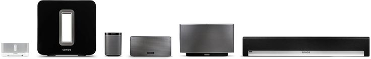 Sonos Wireless HiFi Music Systems, play from one device on multiple speakers