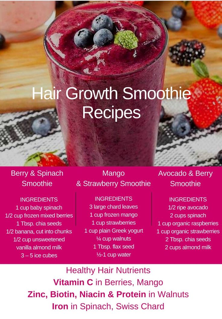 Hair Growth Smoothie Recipies - Musely