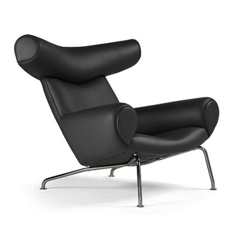 Poltrona vintage ox chair 1960 by hans j wegner for Replica mobili design