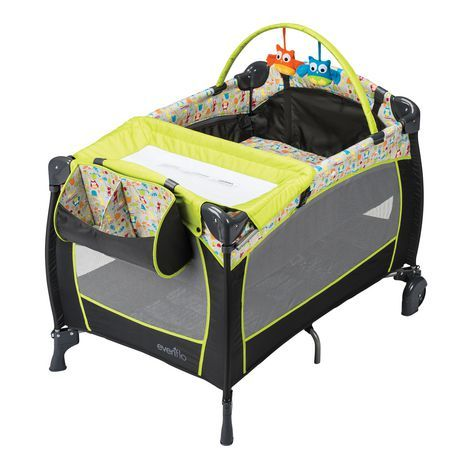 Evenflo Babysuite Deluxe Playard Woodland Buddies Our
