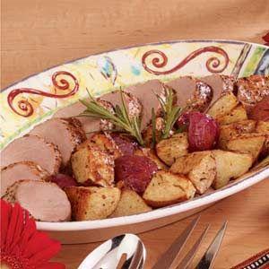 Italian Roasted Pork Tenderloin Recipe