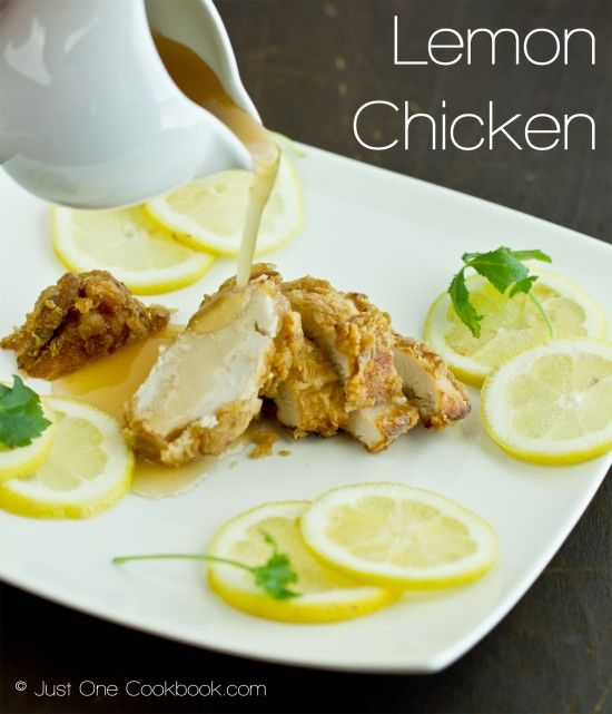 Lemon Chicken - want to try this when our trees are producing all of those lemons!