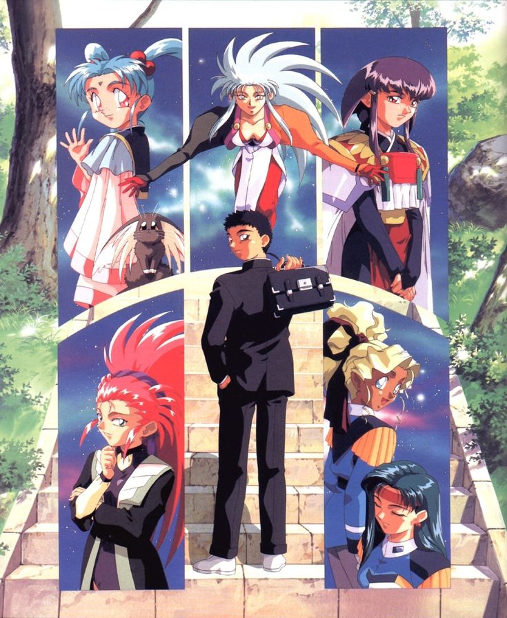 Image result for Tenchi on toonami