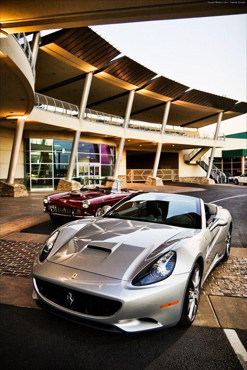 2010 Ferrari California and 250GT Pininfarina Series II Cabriolet