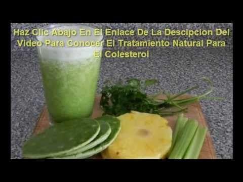 Jugos para bajar el colesterol y trigliceridos altos http milagroparael - Trigliceridos alimentos ...