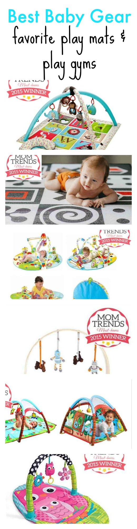 Best Baby Gear: They may be called play mats, play gyms or activity centers, but you will come to know them as the only way you'll get 5 minutes to yourself or your saving grace when you're trying to make dinner. Whether you're looking for a play mat with all the bells and whistles or a modern wooden play gym to match your living room decor, we've rounded up the best play mats and play gyms to keep your baby entertained