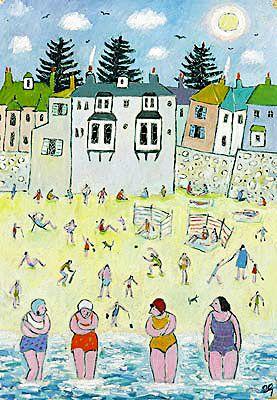 Women Artists in Cornwall: Joan Gillchrest ~ 'Naïve' Painter of Mousehole