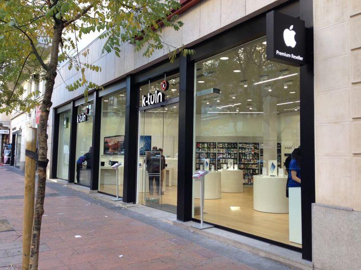 Exterior tienda Apple Barrio de Salamanca