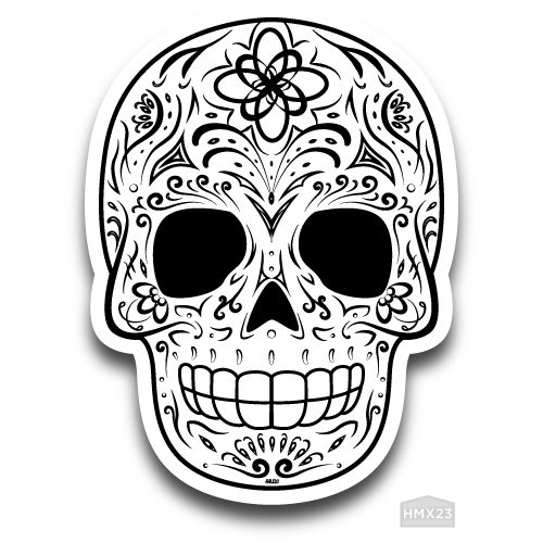 Sugar skull traditional