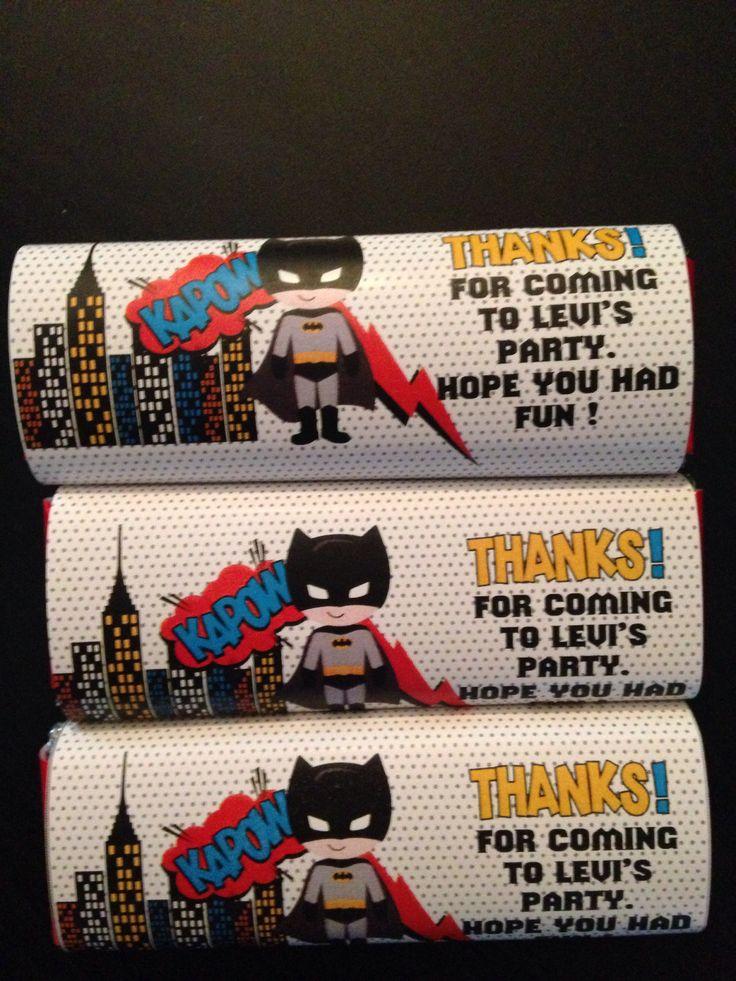 Personalised chocolate bars