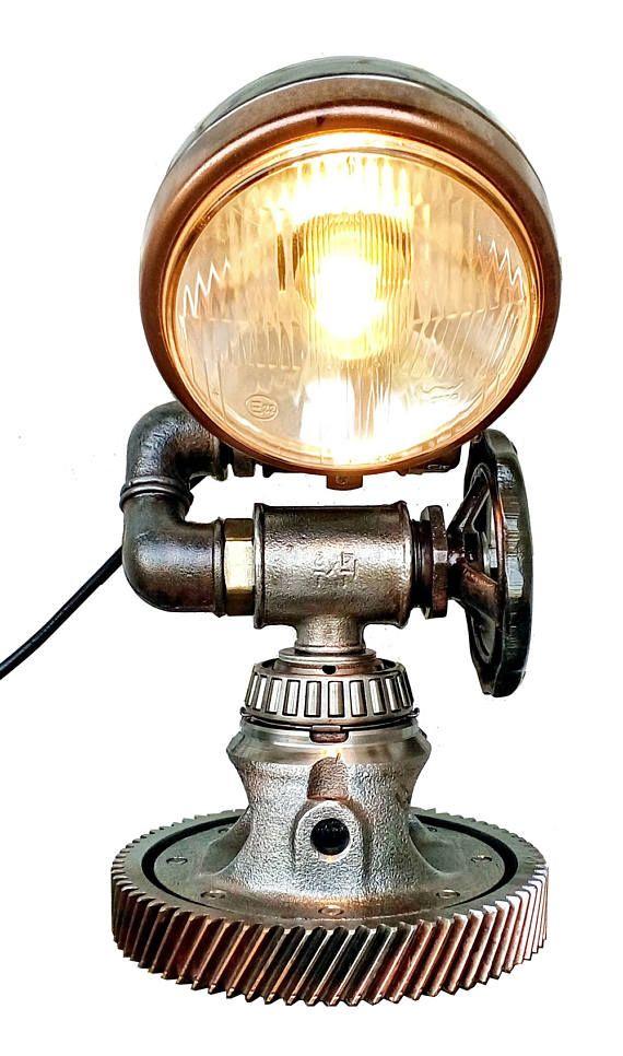 Tractor Bedside Lamp : Best steampunk images on pinterest craft metal art