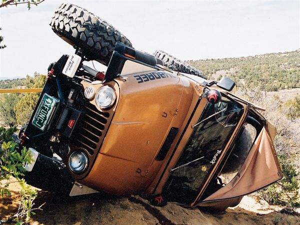 off Road Jeep Machine Jp Nation over Under Sideways Down Photo 9597600