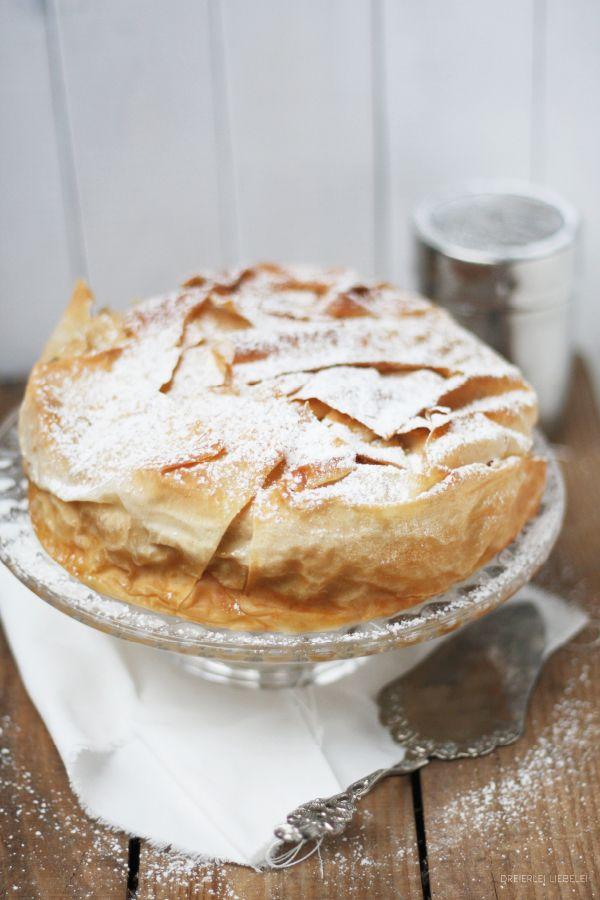Apfelstrudeltorte {Myriams Kuchen, Tartes & Co) - Dreierlei Liebelei