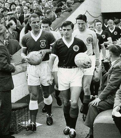 Eric Caldow Scotland captain