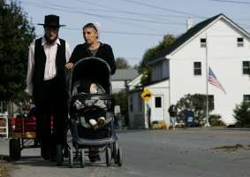 Funerals Held For Amish Girls Murdered In Pennsylvania Schoolhouse