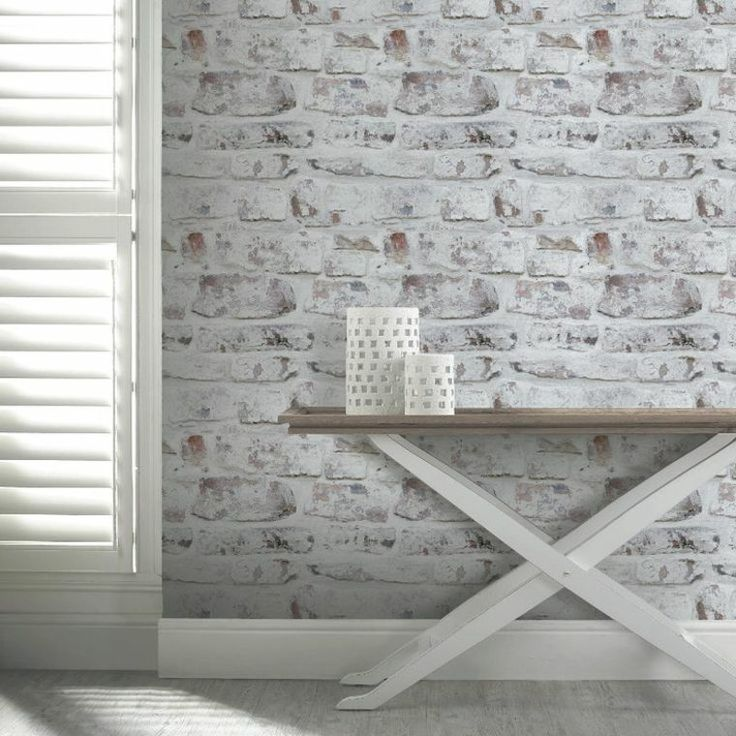 Best 25 papier peint brique blanche ideas only on pinterest papier peint d - Papier peint trompe l oeil brique ...