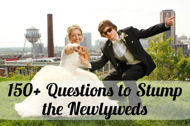 150+ Funny Newlywed Game Questions