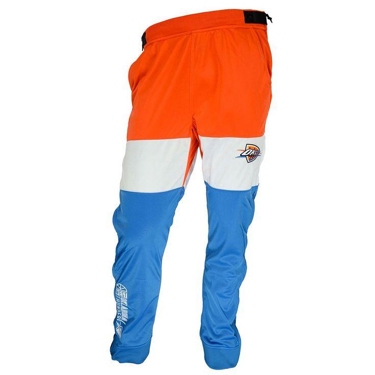 Men's Zipway Oklahoma City Thunder Stadium Sport Pants, Size: Medium, Orange
