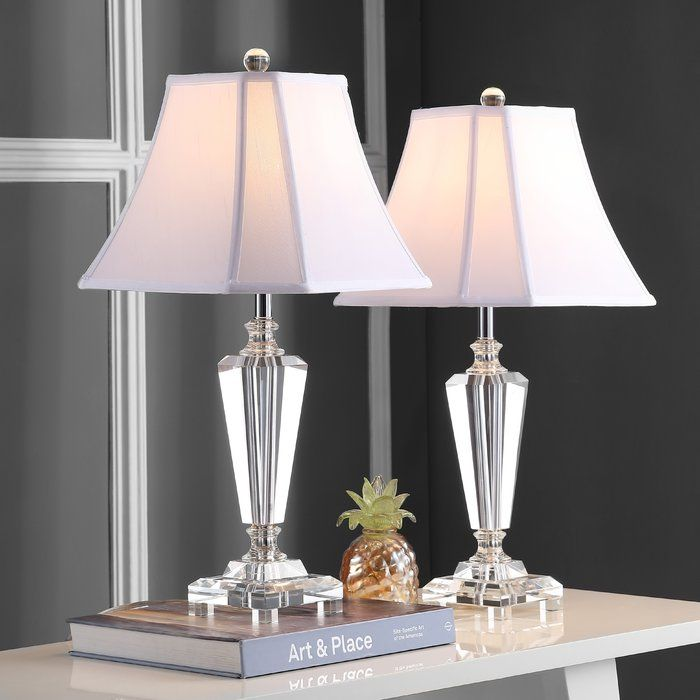 Chaves 25 Table Lamp Set In 2020 Crystal Table Lamps Table Lamp Sets Lamp