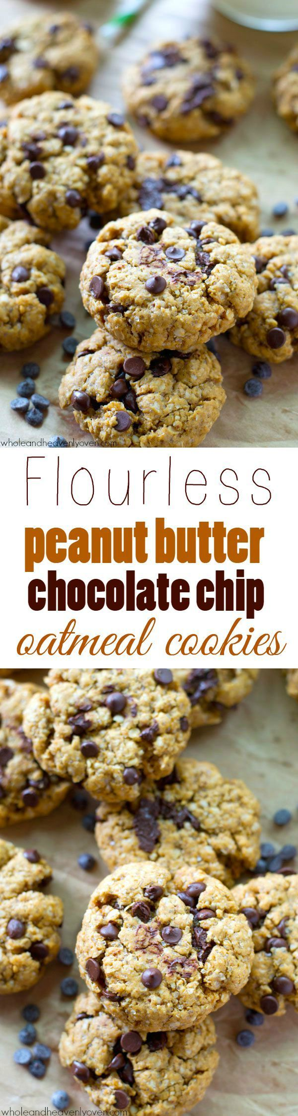 These jam-packed peanut butter chocolate chip cookies are so soft and ...