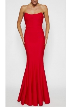 Rachel Gilbert - Oscar Gown scarlet Borrow for $269 p/w