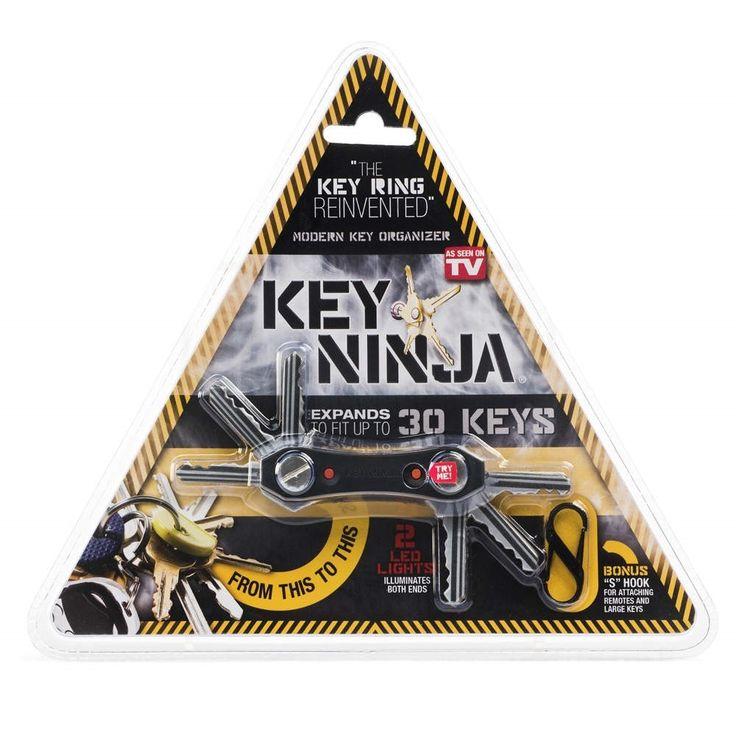 Key ninja pomieści aż 30 kluczy :).