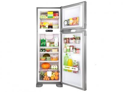 Geladeira/Refrigerador Consul Frost Free Inox - Duplex 275L CRM35NKANA com as melhores condições você encontra no Magazine Luizadoeduardo. Confira!