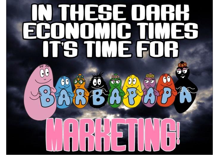 (Wannabe) Barbapapa    (Barbapapa marketing - nieuwe trend in marketing - Jan Willem Alpenhaar)