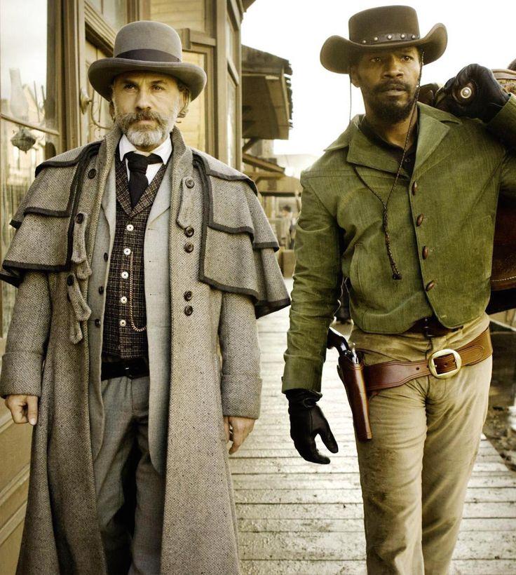Jamie Foxx, Christoph Waltz - Django Unchained (Quentin Tarantino, 2013)