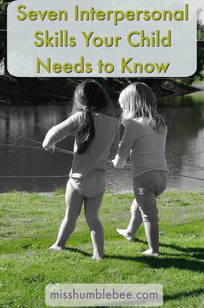 interpersonal skills for kids