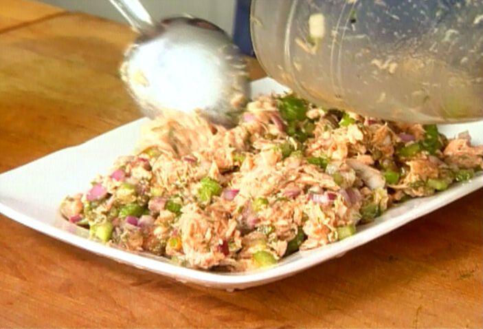 Salmon Salad from FoodNetwork.comFood Network, Grilled Salmon, Salmon Salad, Salad Recipes, Salmonsalad, Fish, Barefoot Contessa, Ina Garten, Salmon Recipe