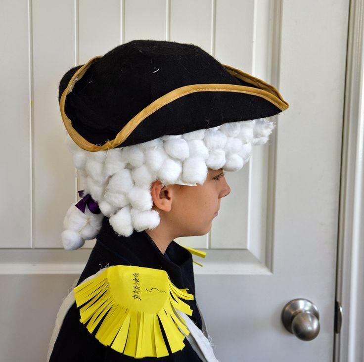 George Washington, and making powdered wigs