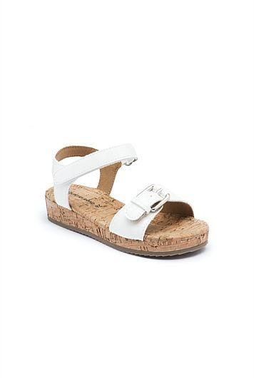 Strappy Cork Sandal